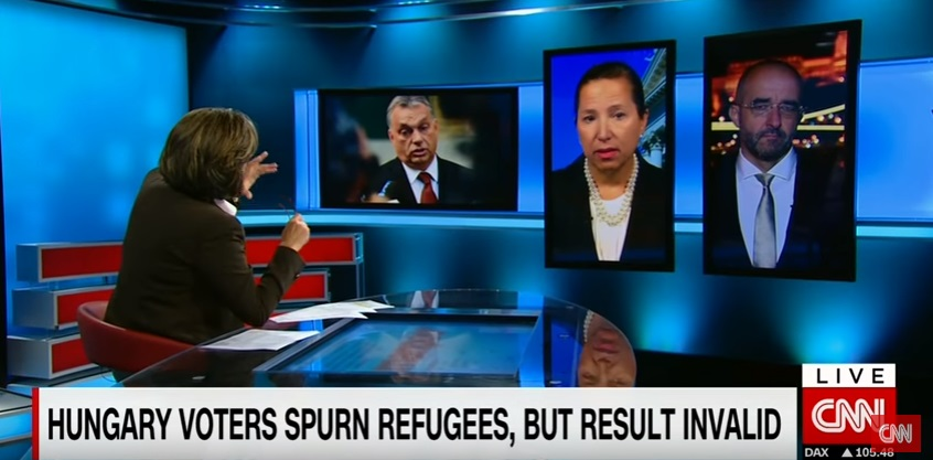 Government Spokesman And Former US Ambassador Clash On CNN Over Migrant Quota Referendum post's picture