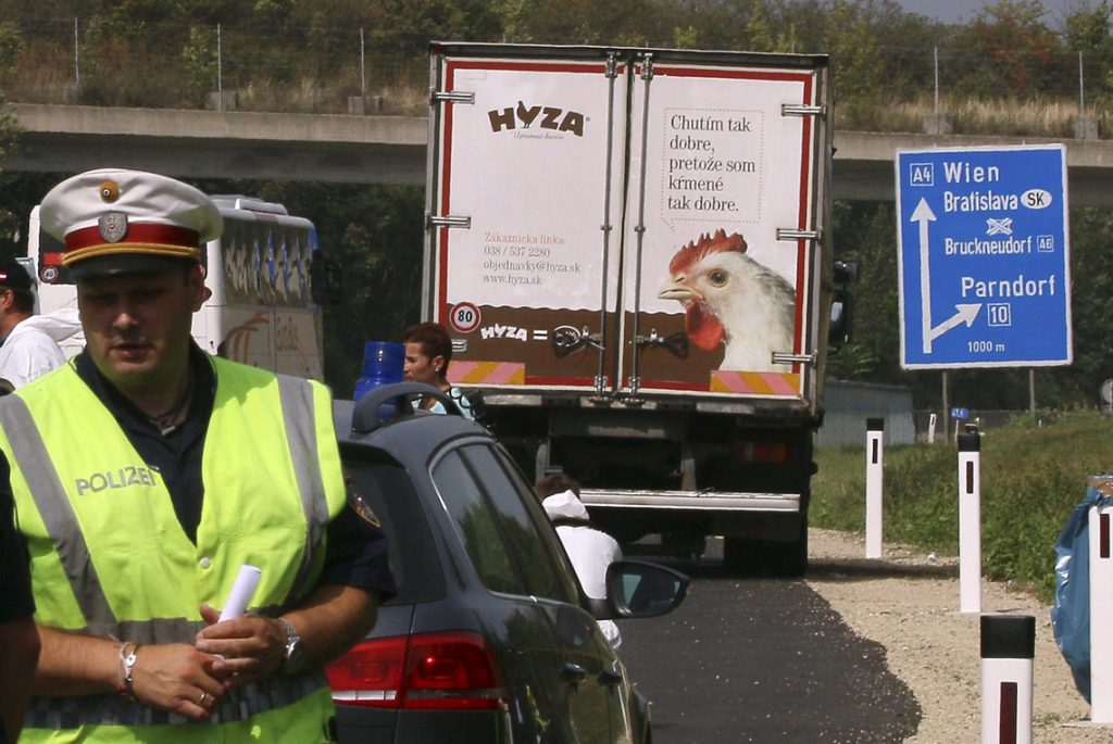 Austrian Lorry Migrant Deaths: Hungarian Police File Charges Against Eight Suspects post's picture