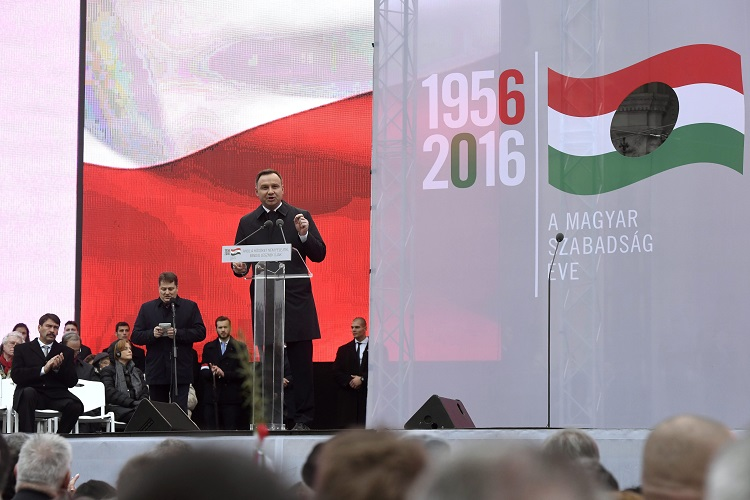 Poland's President Hails Polish-Hungarian Friendship And 1956 Revolution In Budapest post's picture