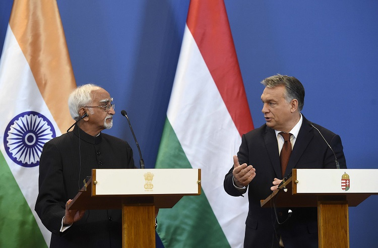 India's Vice President Pays Official Visit To Hungary To Enhance Economic Ties post's picture