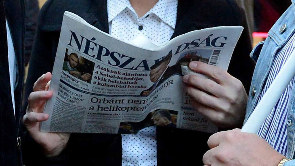 """End Of Press Freedom"" Or ""Business As Usual""? – Hungarian Media Reactions To Népszabadság's Controversial Closure post's picture"