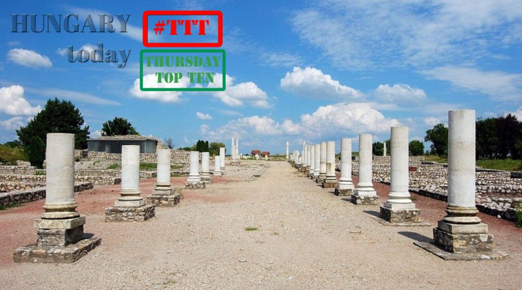 Thursday Top Ten: Ancient Roman Buildings And Architectural Sights In Hungary post's picture