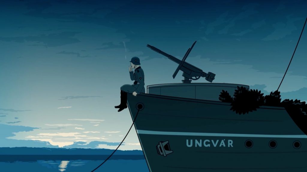 This Eye-Catching Animated Short Tells The Story Of An Exploded Hungarian World War Two Ship – Video! post's picture