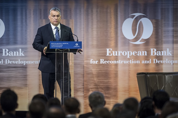 Hungary PM Urges Wage Increase, Hints At Tax Cuts At EBRD Conference In Budapest post's picture