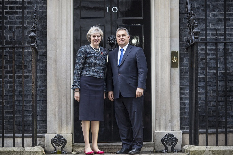 UK, Hungary Premiers Agree On Principle Of Reciprocity post's picture