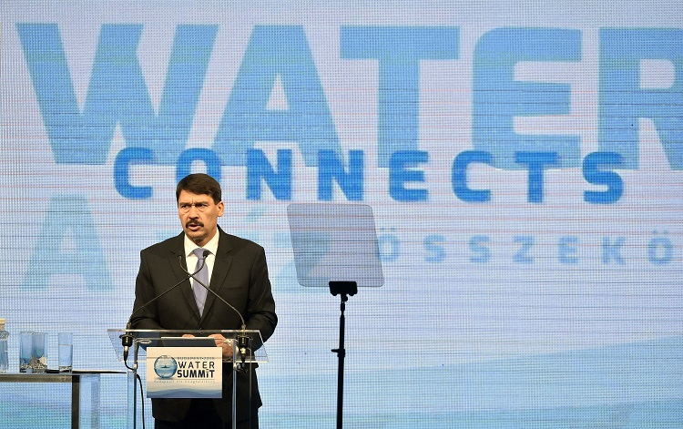 Hungarian President János Áder Opens the Budapest Water Summit post's picture