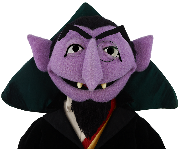 While he may be a nobleman, and while he may have a great accent to boot, Sesame Street's Count von Count isn't Hungarian either.