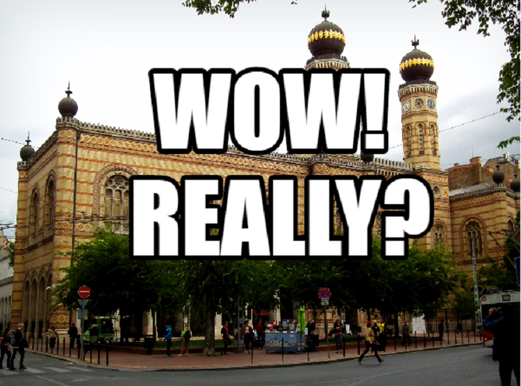 Wow! Really?- Budapest is Home to Europe's Largest Synagogue post's picture