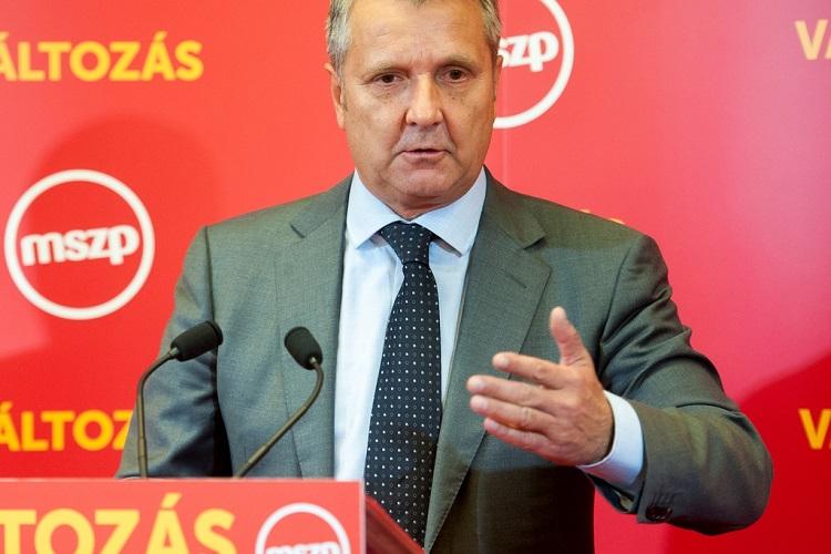 MSZP Party President Gyula Molnár (Népszava)