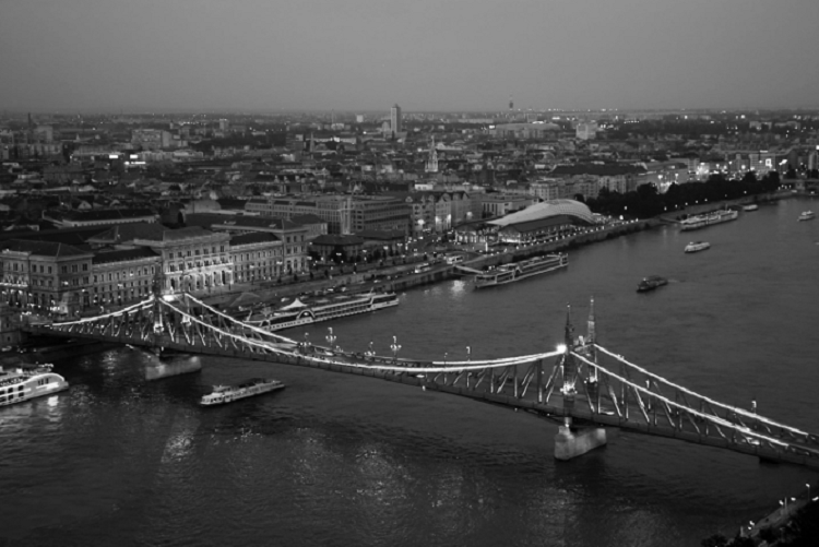 Budapest's Liberty Bridge, which was named after Francis Joseph until the Communist Era. (Photo-Riley Dunbar)