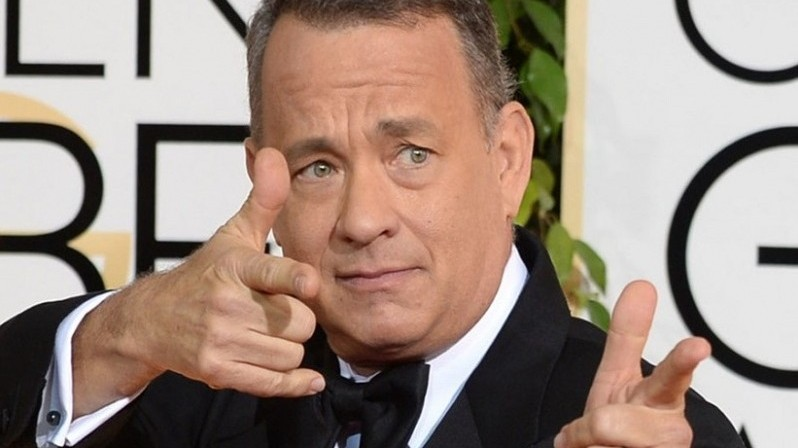 Tom Hanks Can't Pick Between Red And Yellow Polski Fiat Cars In Budapest – Photos! post's picture