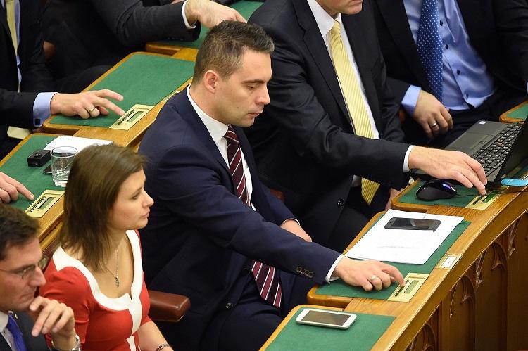 Jobbik party leader Gábor Vona (Kovács Tamás - MTI)