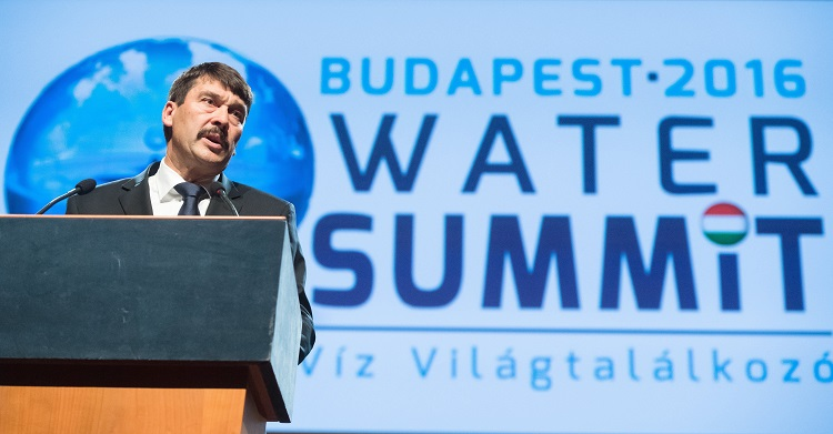 Thoughts Of The Hungarian President On Budapest Water Summit post's picture