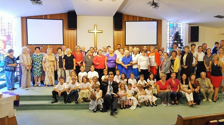 "The ""Hungarian Christian Church of Sarasota"" community"