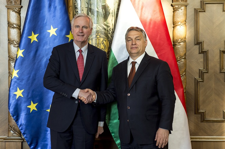 """Hungary Urges """"Fair Brexit Deal"""" As Prime Minister Holds Talks With EU's Chief Negotiator post's picture"""