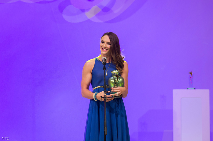 Katinka Hosszú has landed in third place in the Best Athletes of 2016 award post's picture