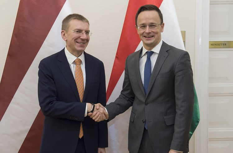 Hungary, Latvia Enhance Bilateral Ties As Foreign Ministers Hold Talks In Budapest post's picture