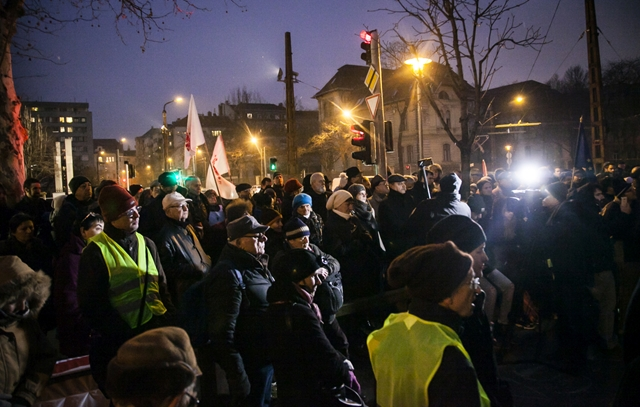 Demonstration For The Polish Democracy In Budapest post's picture