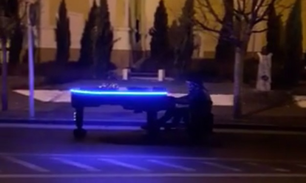 Rolling Piano On The Streets Of Baja – Video! post's picture