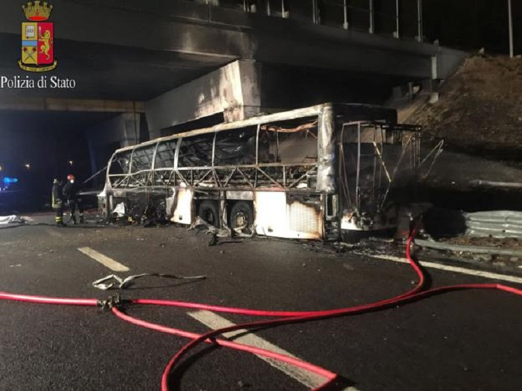 Tragedy: Sixteen Hungarians Killed And Many Seriously Injured In Fatal Bus Crash In Italy post's picture