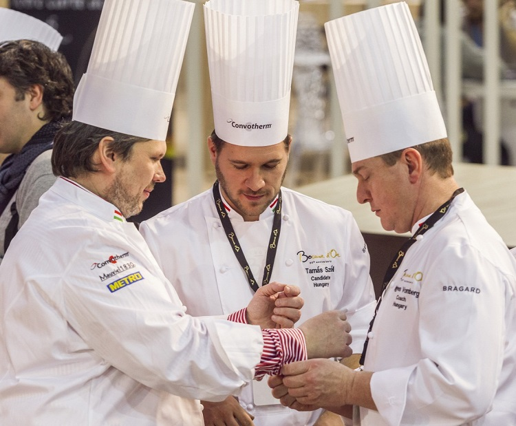 Hungarian Chef Tamás Széll and Team Cooking for the Gold at Bocuse d'Or World Championship Today! post's picture