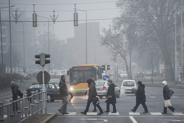 NNK Reports Poor Air Quality in Budapest and Other Parts of Hungary post's picture