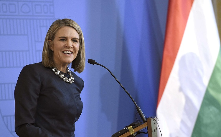 Departing US Ambassador Colleen Bell Receives Hungarian State Decoration post's picture
