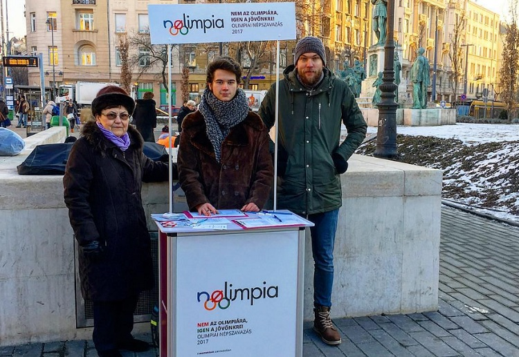 """Nolimpia"": Youth Movement Starts Signature Collection Campaign To Undermine Budapest 2024 Olympic Bid post's picture"