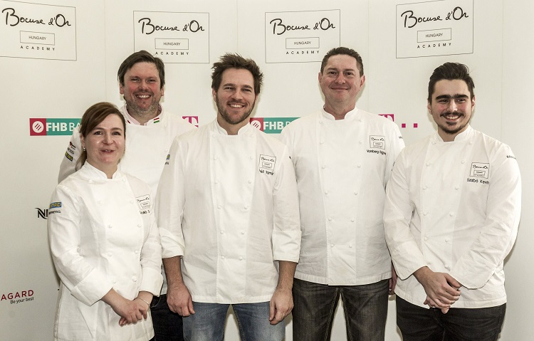 Hungarian Chef Tamás Széll and his Team Get Ready to Head to Bocuse d'Or World Championship post's picture