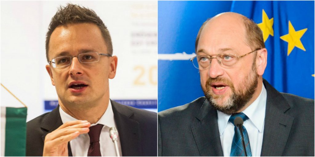 "Hungarian Foreign Minister Rebuffs EP President In ""More Europe"" Debate post's picture"