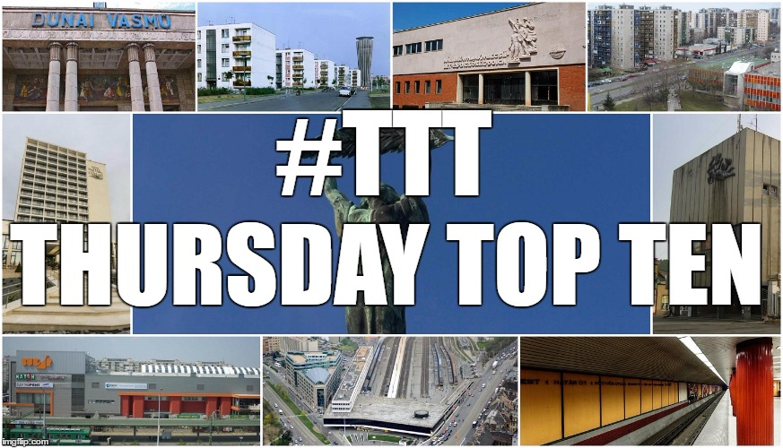 Thursday Top Ten: Communist-Era Buildings And Architectural Sights In Hungary post's picture