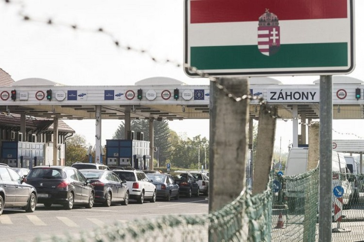 Hungarian-Ukrainian Communication Center Opened at Záhony Border Crossing post's picture