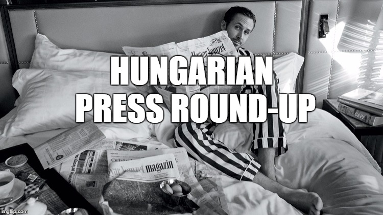 Hungarian Press Roundup: PM Orbán Meets Chancellor Merkel post's picture