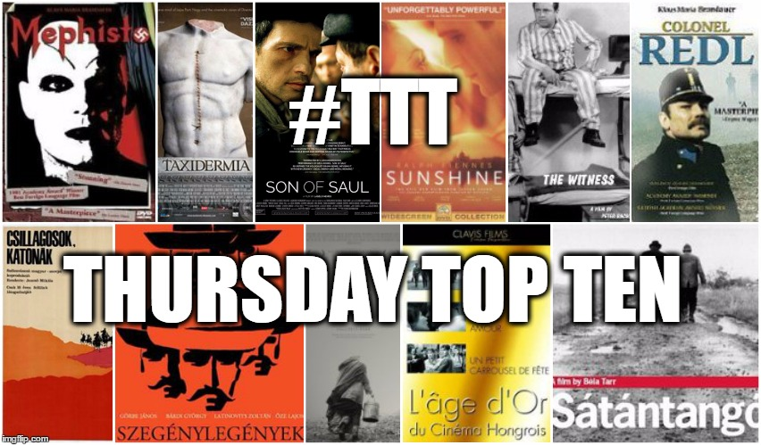 Thursday Top Ten: It's Movie Time! These Are The Best Hungarian Movies Ever post's picture
