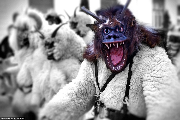 Creepy Busós Scaring Away The Winter – Busó Festival Starts In Mohács post's picture