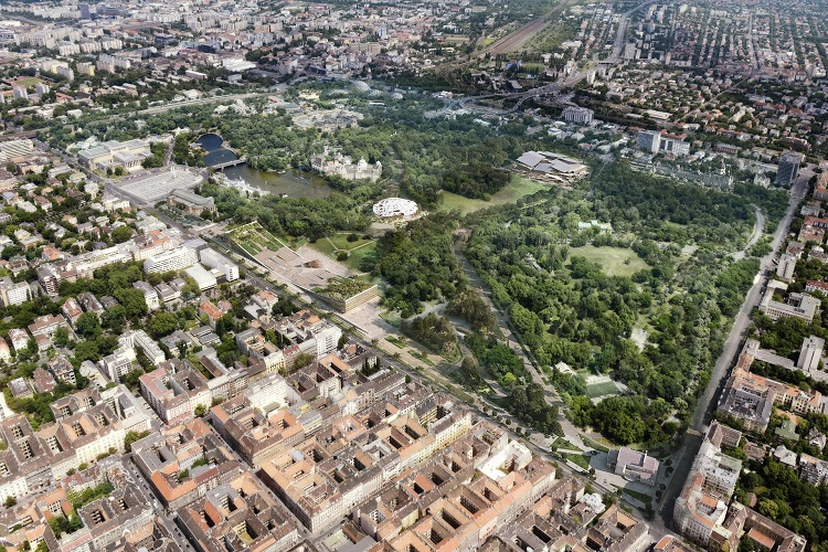 "Budapest's City Park Renovation Nominated for ""Oscars"" of Real Estate World post's picture"