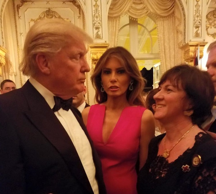 In Washington, Hungarian Ambassador Réka Szemerkényi Builds Relationships with the Trump Administration post's picture
