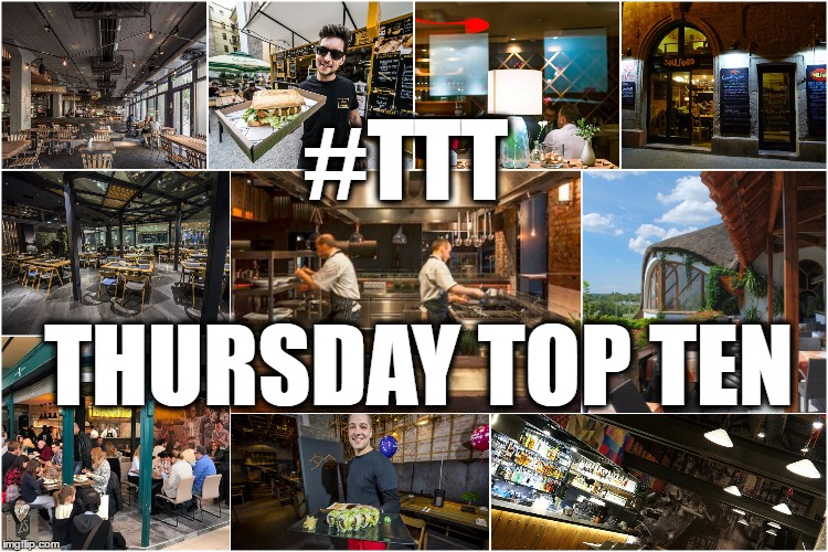 Thursday Top Ten: Best Restaurants And Bistros You Have To Try If You Visit Budapest post's picture