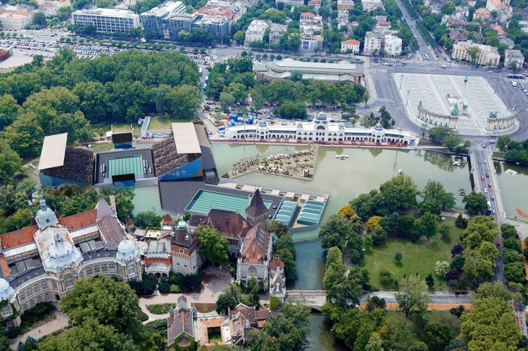 """FINAlly"" We Can Have A Look At The FINA's Swimming Arena In The Budapest City Park post's picture"