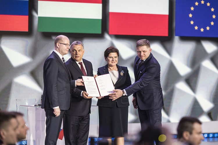 """""""Future Of Europe Lies In The V4 Grouping"""", PM Orbán Says At Visegrad Summit In Warsaw post's picture"""