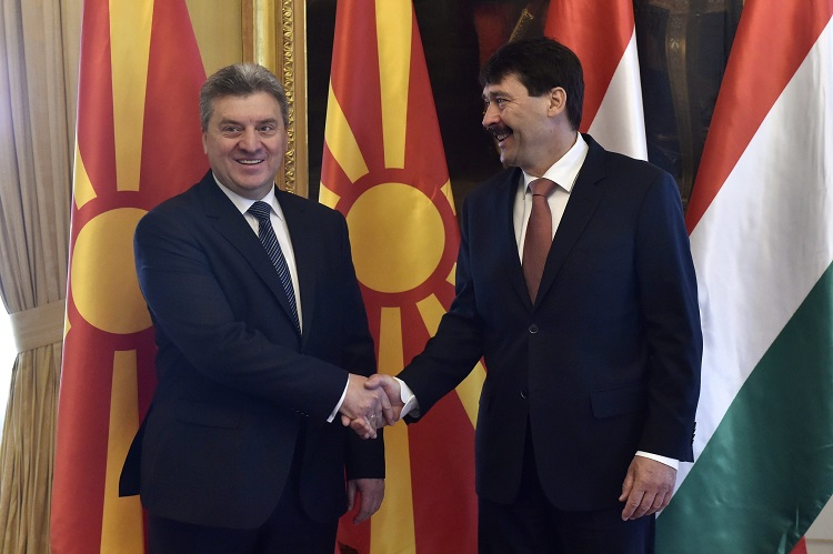 Macedonia President Says His Country Grateful To Hungary For Efforts To Tackle Migrant Crisis post's picture