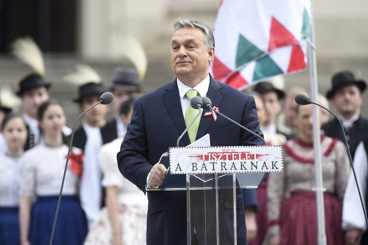 State Leaders Invoke Hungary's Never-Ending Fight For Survival On 1848 National Holiday post's picture
