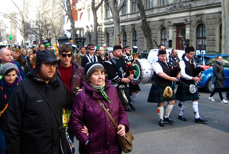 Bagpiping through Budapest: Photos of this Year's St. Patrick's Day Parade post's picture