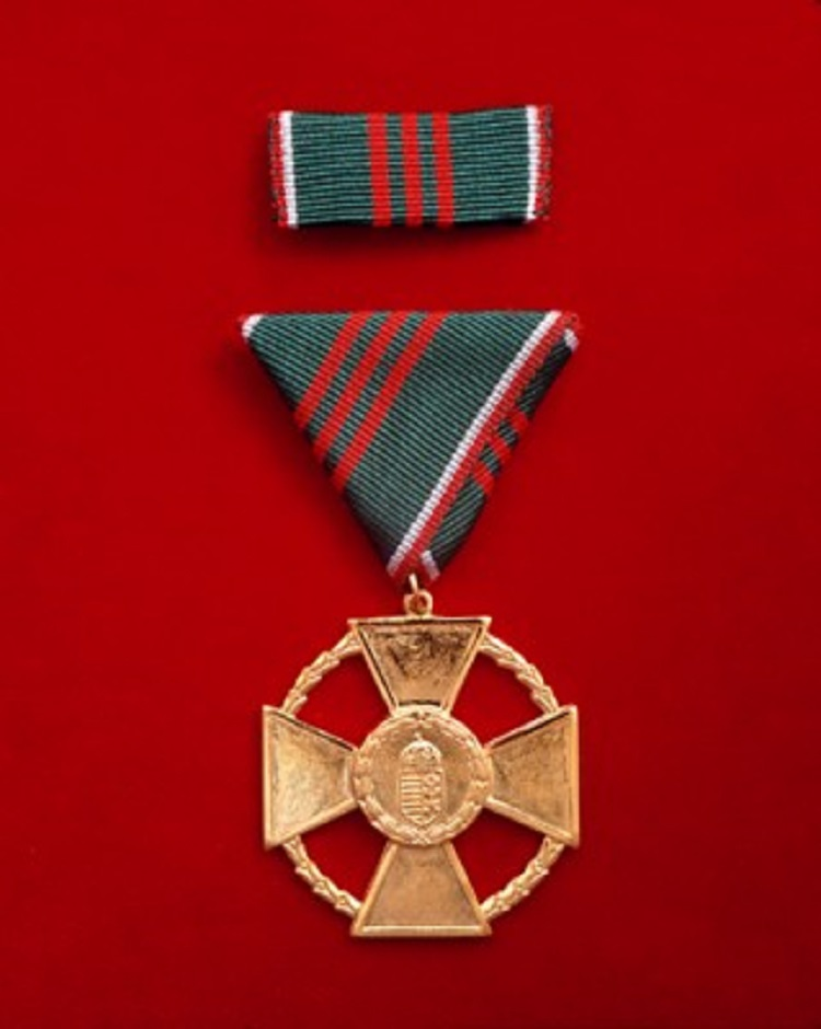 The Hungarian Gold Cross of Merit