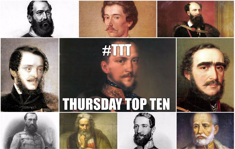 Thursday Top Ten: Leading Figures Of Hungary's 1848-1849 Revolution And War For Independence post's picture