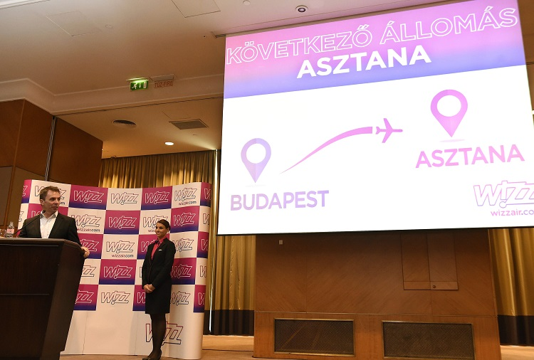Wizz Air To Launch Direct Flight Between Budapest And Astana post's picture