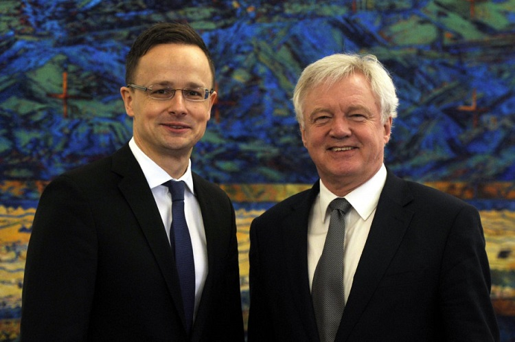 Hungarian Foreign Minister And UK Secretary Of State For Exiting The EU Talks About Life After Brexit post's picture