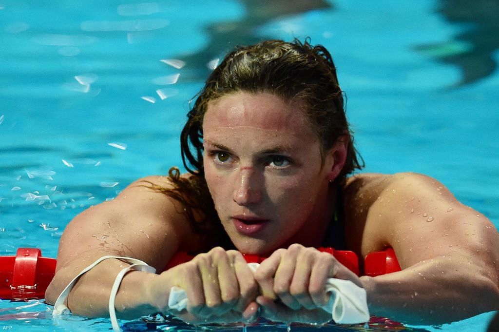 """""""I Think I'm Just Gonna Stay Here"""" – Katinka Hosszu Relaxes After A Training Day In The USA post's picture"""