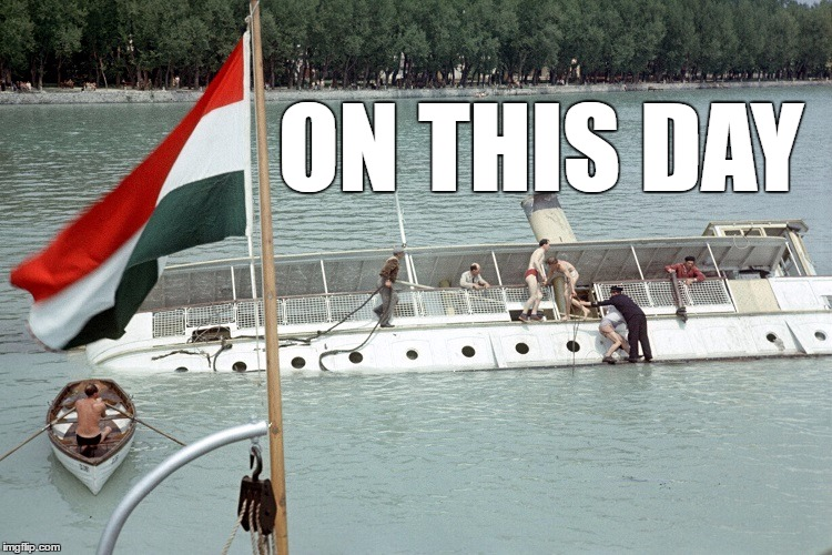 "63 Years Ago, The Steamship Known As The ""Titanic Of Lake Balaton"", Tilted And Capsized Killing 22 post's picture"