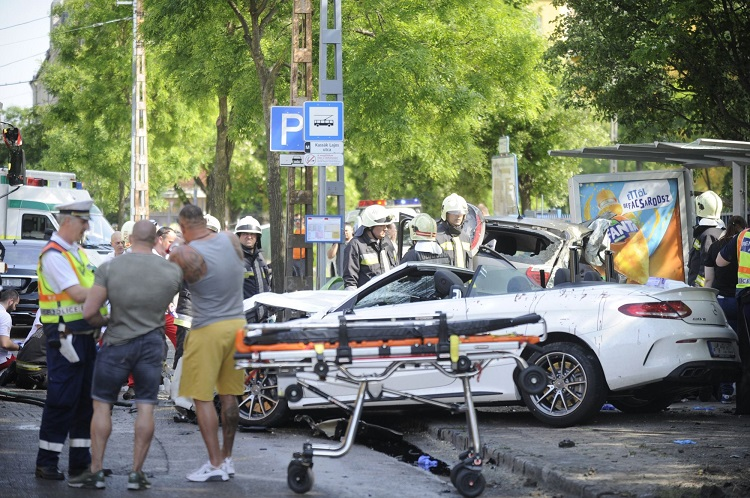 Fatal Accident – Mercedes' Owner Reportedly Belongs to Hungarian Mafia post's picture
